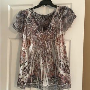 Faded vintage top
